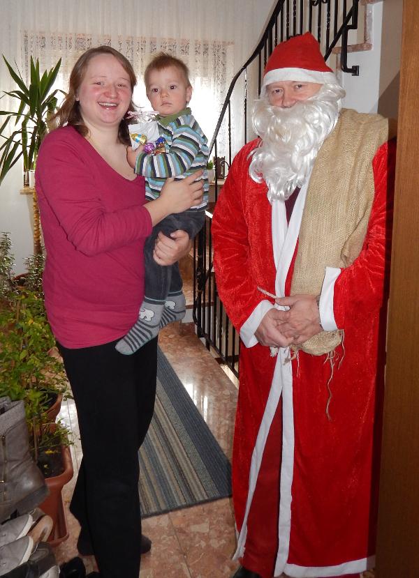 Der Nikolaus ist da !